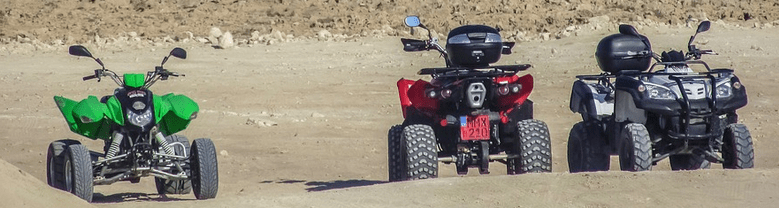 Four wheelers financed with bad credit ATV financing.