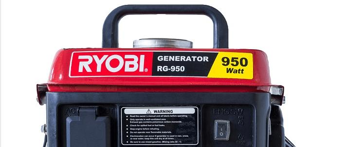 Ryobi portable generator