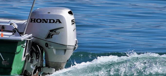 A Honda motor from financing.