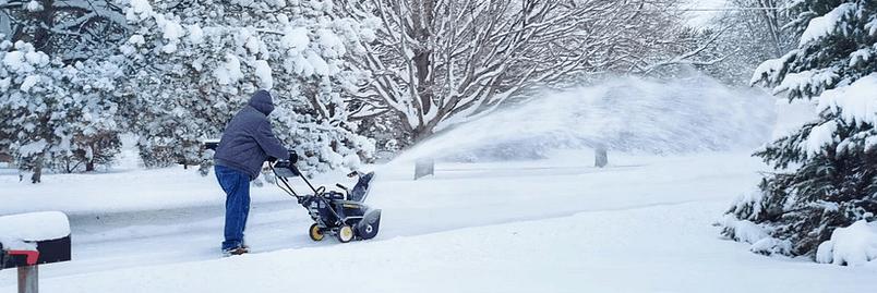 A snowblower that was financed.